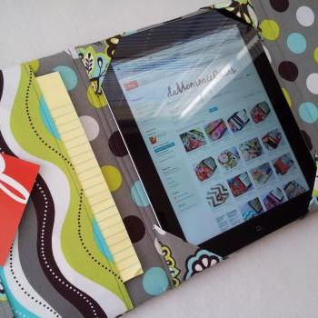 Ipad case cover bag messenger style bag MaDe to OrDeR